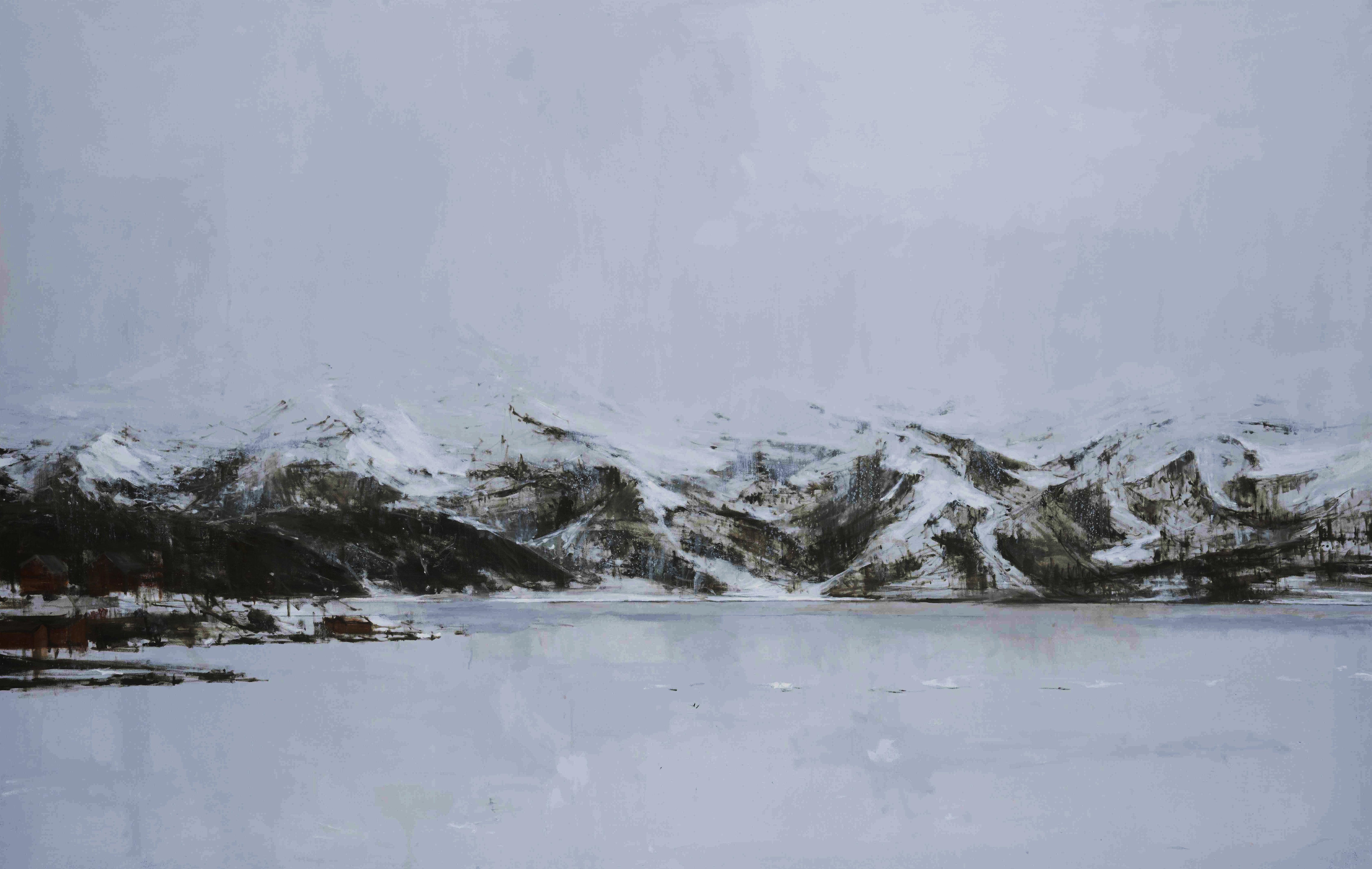 Hardangervidda #3, Norway - Large-Scale Landscape Painting