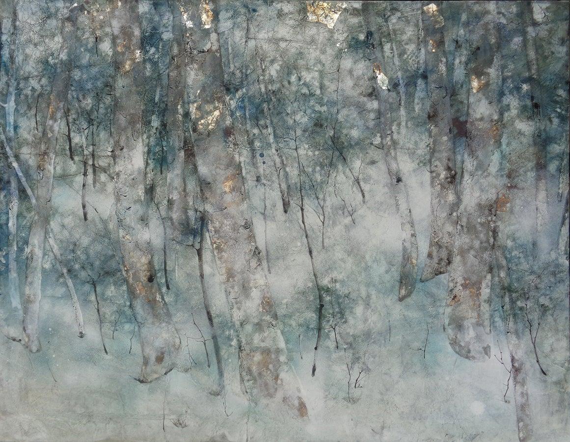 Forgotten Time, Contemporary Nihonga (Japanese Painting)