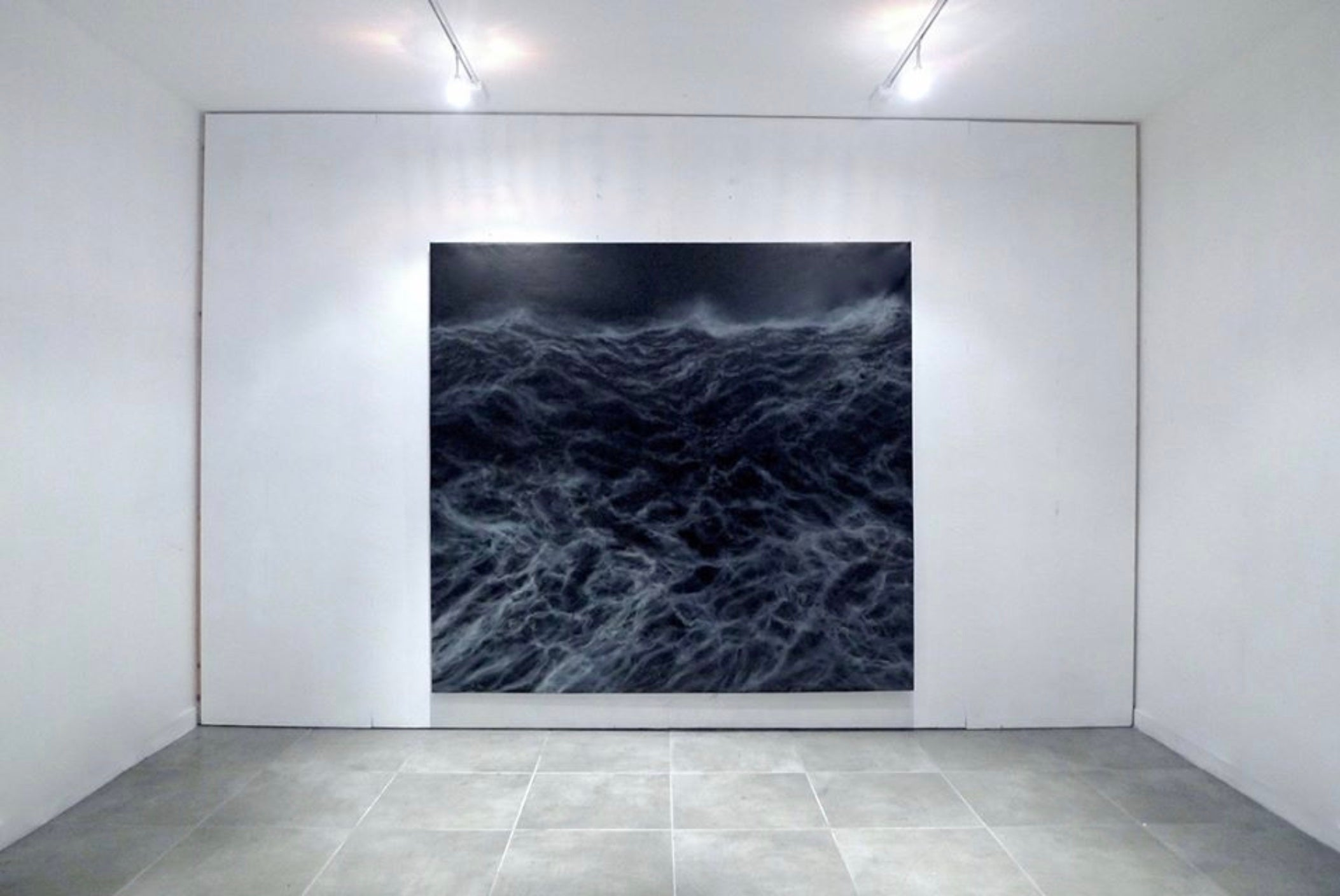 The Wall - Contemporary Seascape Painting