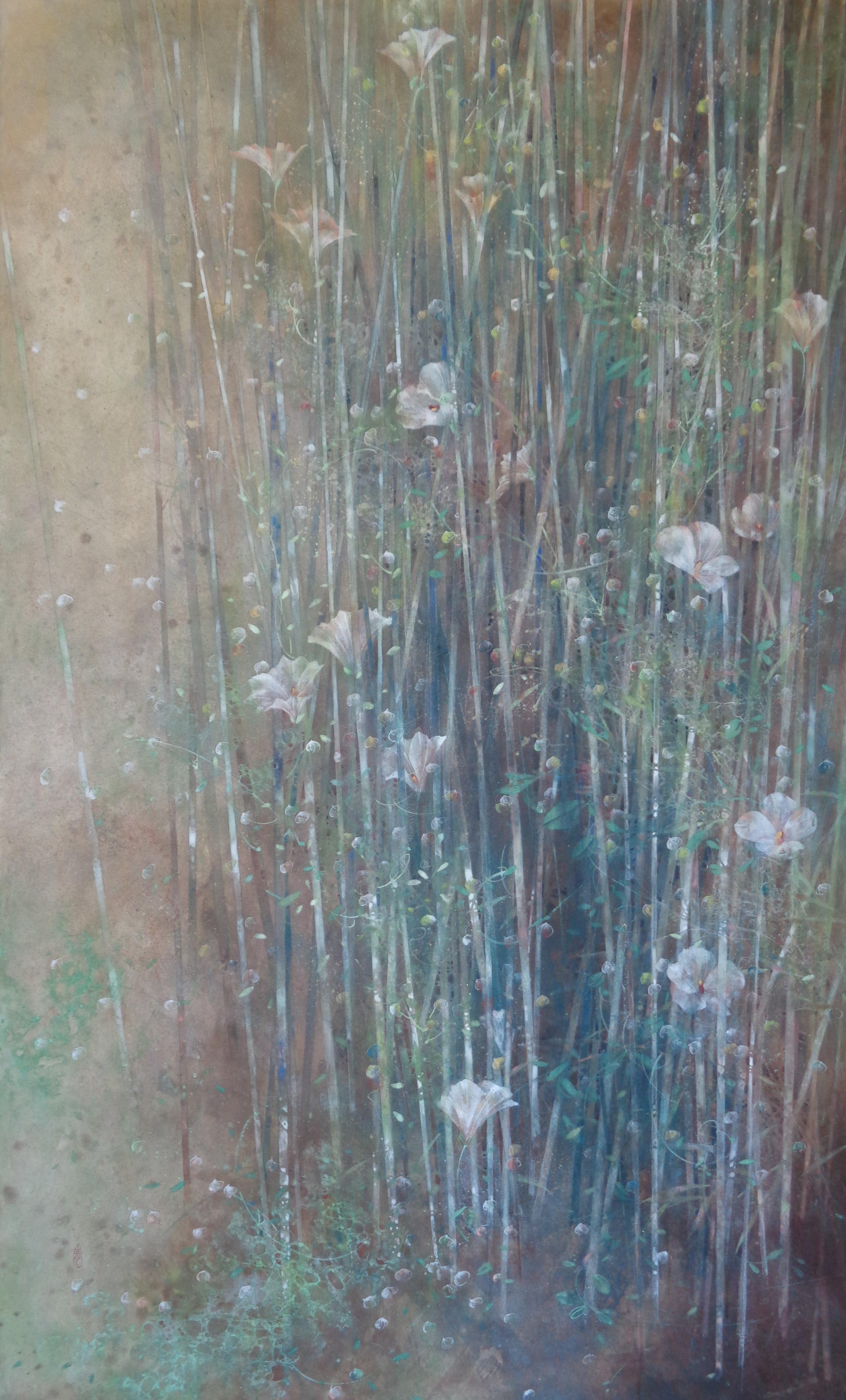 Murmur - Contemporary Nihonga (Japanese Painting)