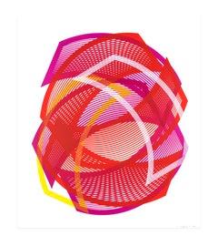 Orbital Frontal Cortex - Wonder - abstract print by Kate Banazi