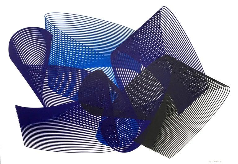 Kate Banazi Abstract Print - Dreams - abstract screenprint on paper - minimalist, modern art, 21st century