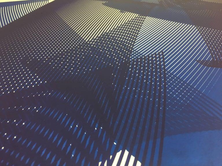 Dreams - abstract screenprint on paper - minimalist, modern art, 21st century - Abstract Print by Kate Banazi
