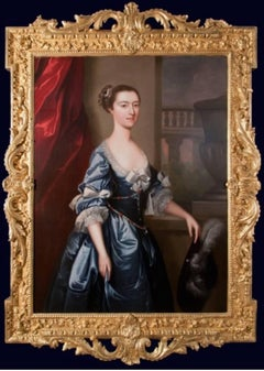 john lewis - Portrait of  a Lady