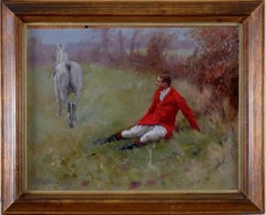 Painting of a Hunstman A Sporting Picture