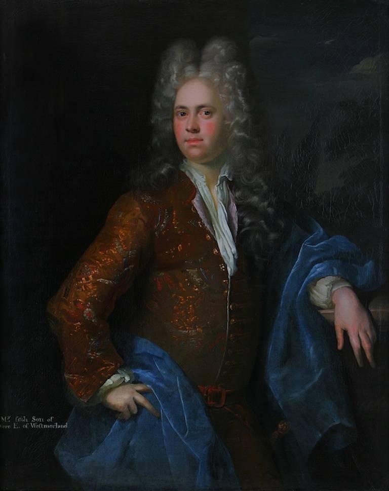 Alexis Simon Belle Portrait Painting - The Honorable Mildmay Fane, A Portrait