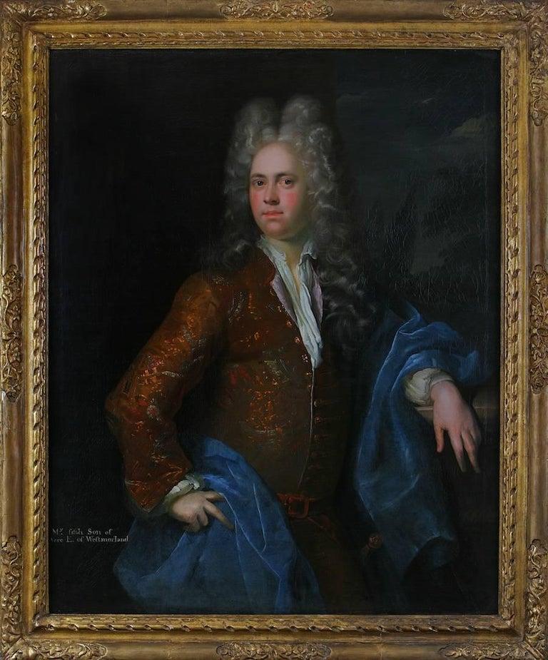 The Honorable Mildmay Fane, A Portrait - Painting by Alexis Simon Belle
