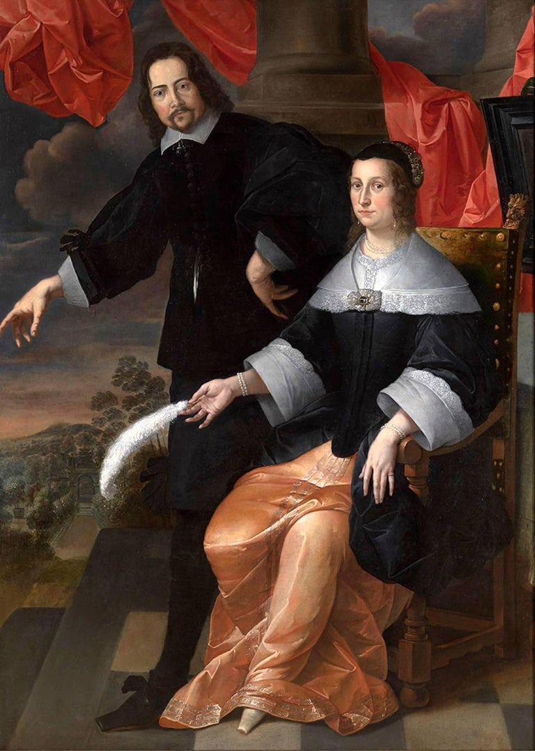 A Double Portrait, A Gentleman and A Lady