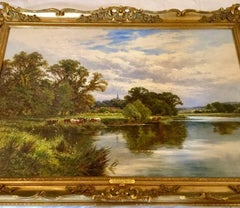 On the River Severn at Bridgnorth An English Landscape
