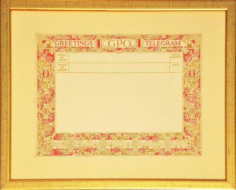 Various Artists Figurative Print - British Post Office Greetings Telegrams (1935-1978), after various artists