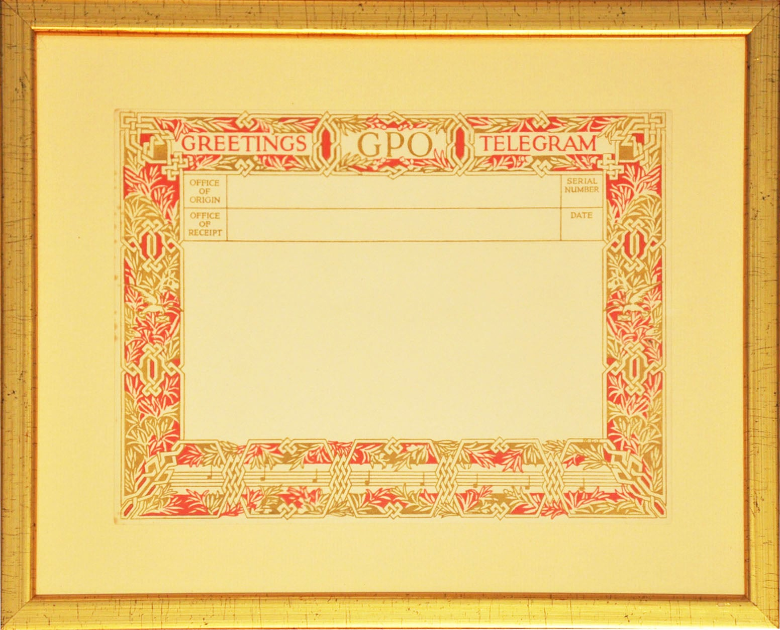 British Post Office Greetings Telegrams (1935-1978), after various artists