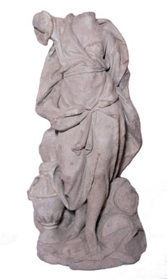 Bozzetto of an allegory in terracotta, France circa 1700