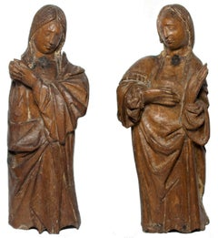 Renaissance figures of Holy Women at the Tomb, Antwerpen workshop