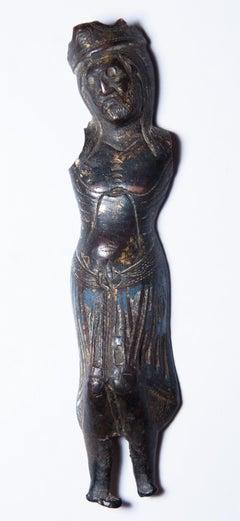 Limoges Enameled Christ Corpus, XIII th century