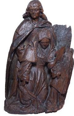 Swoon of the Virgin, altarpiece element