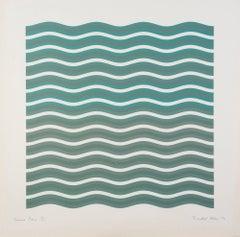 Coloured Greys [2], Screen Print, Op Art by Bridget Riley