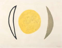 Moon Series F, Print, Lithograph, Contemporary by Lynn Chadwick