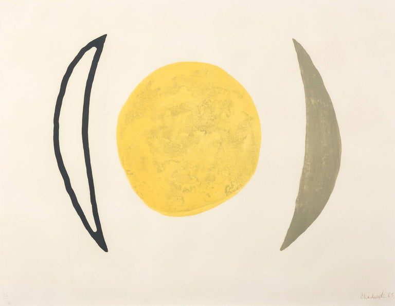 LYNN CHADWICK Moon Series F, 1965-6 Lithograph, on wove Signed and numbered from the edition of 70 Published by Marlborough Fine Arts, London Sheet: : 50.6 x 65.4 cm (20.0 x 25.7 in)