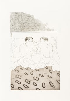 Illustrations for fourteen poem by C. P. Cavafy