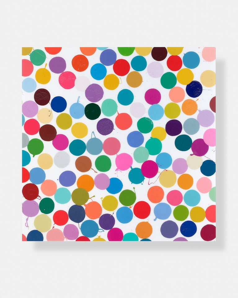 DAMIEN HIRST Raffles, 2018 Diasec-mounted giclée print on aluminium panel Signed and numbered from the edition of 100 verso Published by HENI Productions, London Within the original foam-lined box Sheet: 90.0 × 90.0 cm (35.4 × 35.4 in) HENI Editions