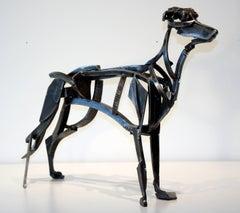Mechanical Dog, steel sculpture