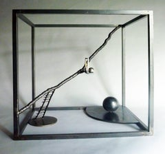 Four O'Clock in the Morning, steel sculpture
