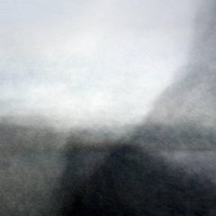 A quiet world of mist, abstract photograph on fine art paper