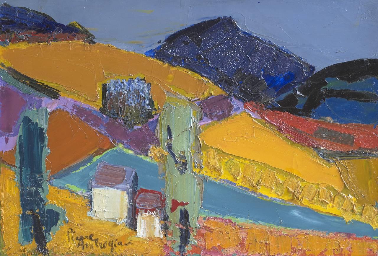 Pierre Ambrogiani - La Montagne de Montburn at 1stDibs