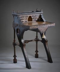 A Rare and Beautiful Walnut Desk