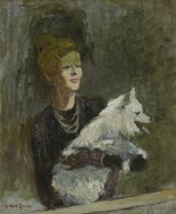 Elegant Lady and Her Companion