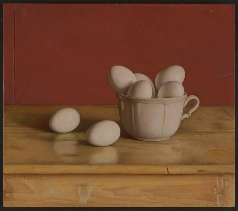 Mark Lijftogt Still-Life Painting - Half a Dozen or More