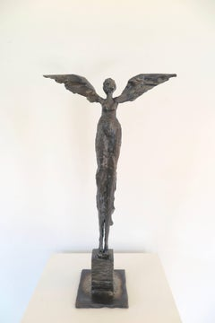Russell Whiting - Angel, Steel Sculpture