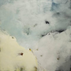 Into the All, Encaustic Painting
