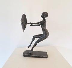 Windblown, Steel Sculpture