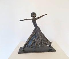 Dancer, Steel Sculpture