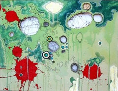 The End of the World, Mixed Media Painting