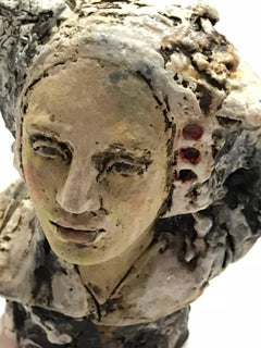 Plaza Blanca Light, Clay Sculpture