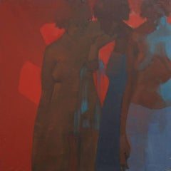 Bathers, Figurative Oil Painting