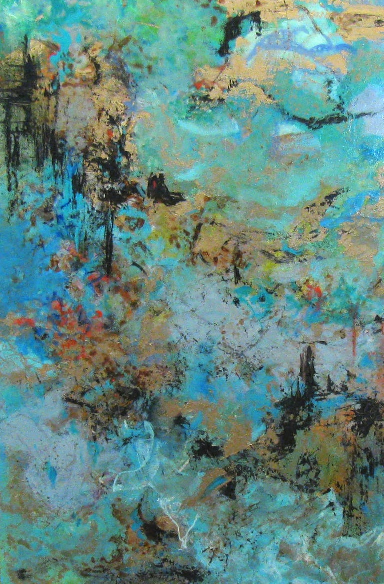 Bonnie Teitelbaum - Dancers, Abstract Painting, Painting ...