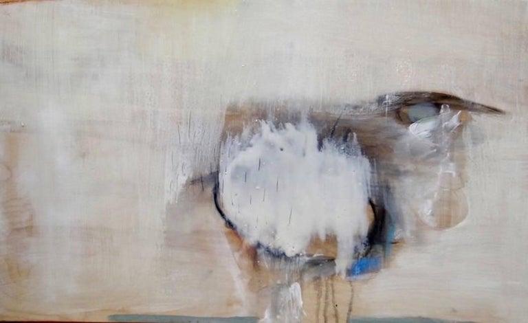 Cloud, Mixed Media Abstract Painting