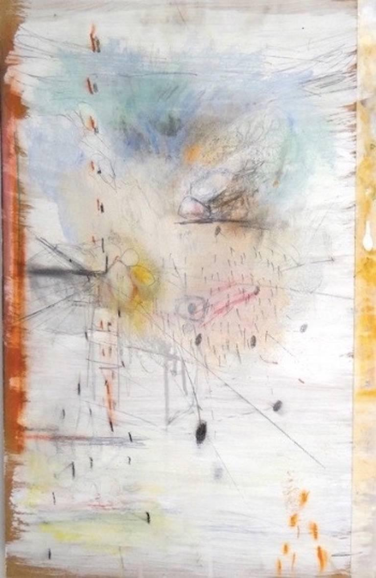 Beautiful and Gone, Mixed Media Abstract Painting