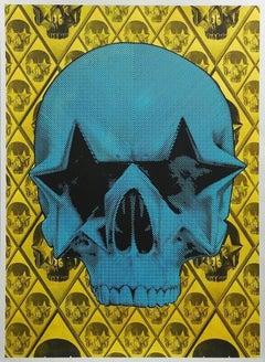 Starskull Positive (Blue Skull on Yellow) HPM