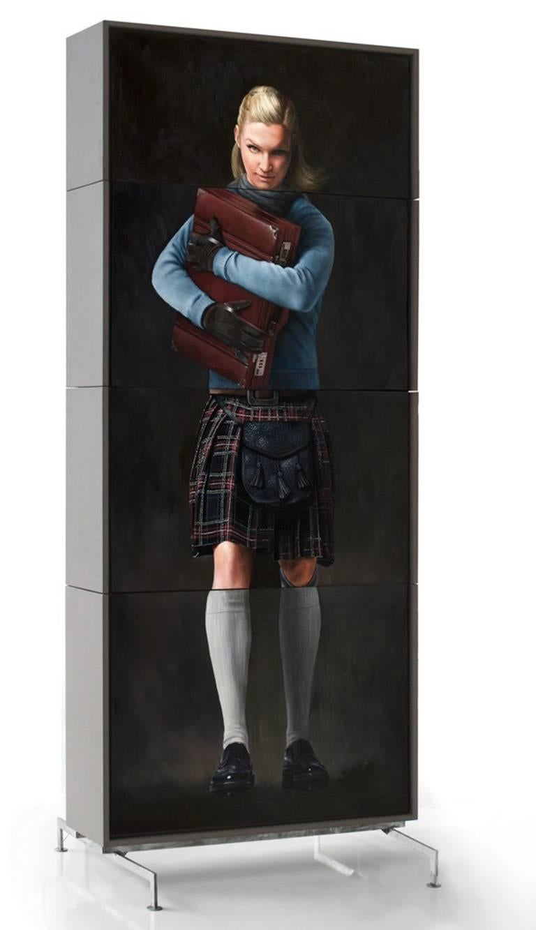 The Suitcase - Sculpture by  Andreas Englund