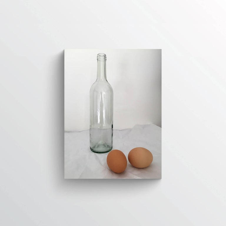 Bottle with Eggs (medium) - Photograph by Lekha Singh