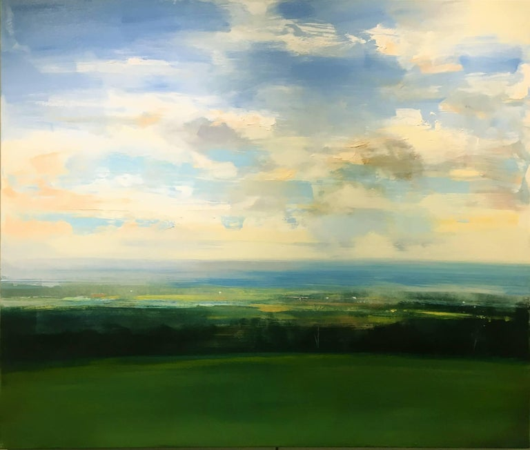 Valley View, 2017, Oil on Canvas