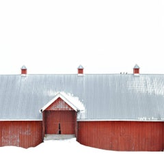 """Fairfield Barn 1,"" Photographic Archival Pigment Print, Framed"