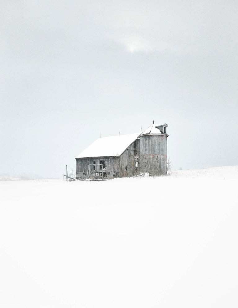 """Sheldon Barn 3,"" Photographic Archival Pigment Print, Framed"
