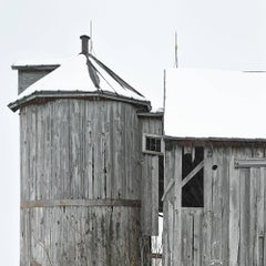 """Sheldon Barn 4,"" Photographic Archival Pigment Print, Framed"