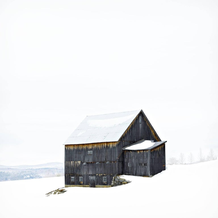 Max Gray Barn, Photographic Archival Pigment Print, Limited Edition, Framed