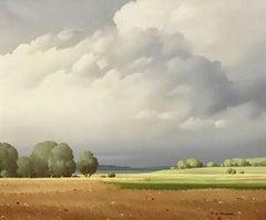 Ciel de France 20th Century Landscape Painting Award Winning Paris Salon Artist